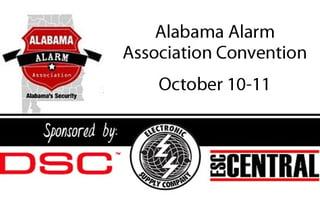 2017 Alabama Alarm Association Conference - Clare Controls