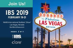 Clare will be at NAHB ISB 2019!