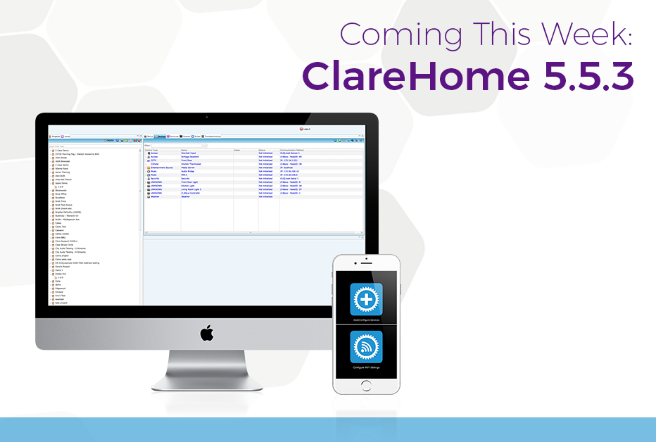 ClareHome 5.5.3 - Clare Controls