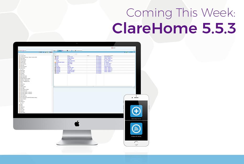 ClareHome 5.5.3 - Clare Controls