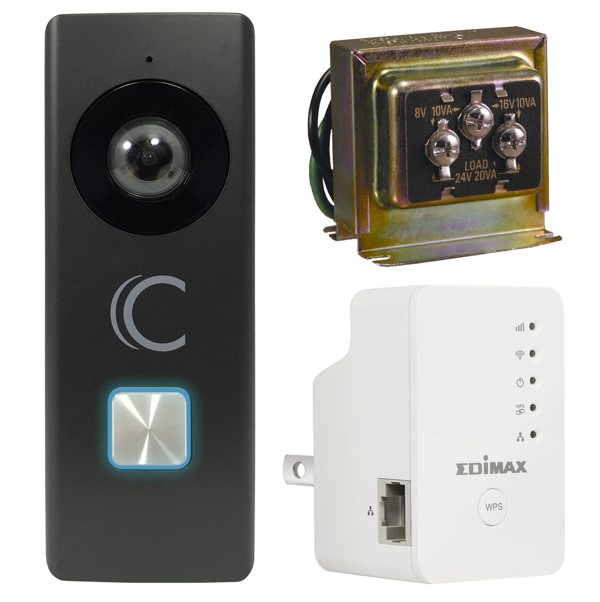 Clare Video Doorbell Plus Kit