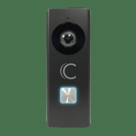 ClareVideo Doorbell-Black-Front.png