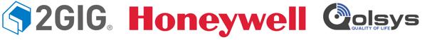 2GIG Honeywell Qolsys Logos v2