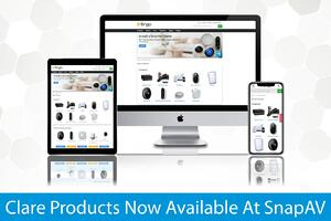 Dealer_News_Clare_Products_Available_At_SnapAV