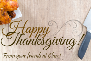 Happy Thanksgiving from Clare Controls Thumbnail