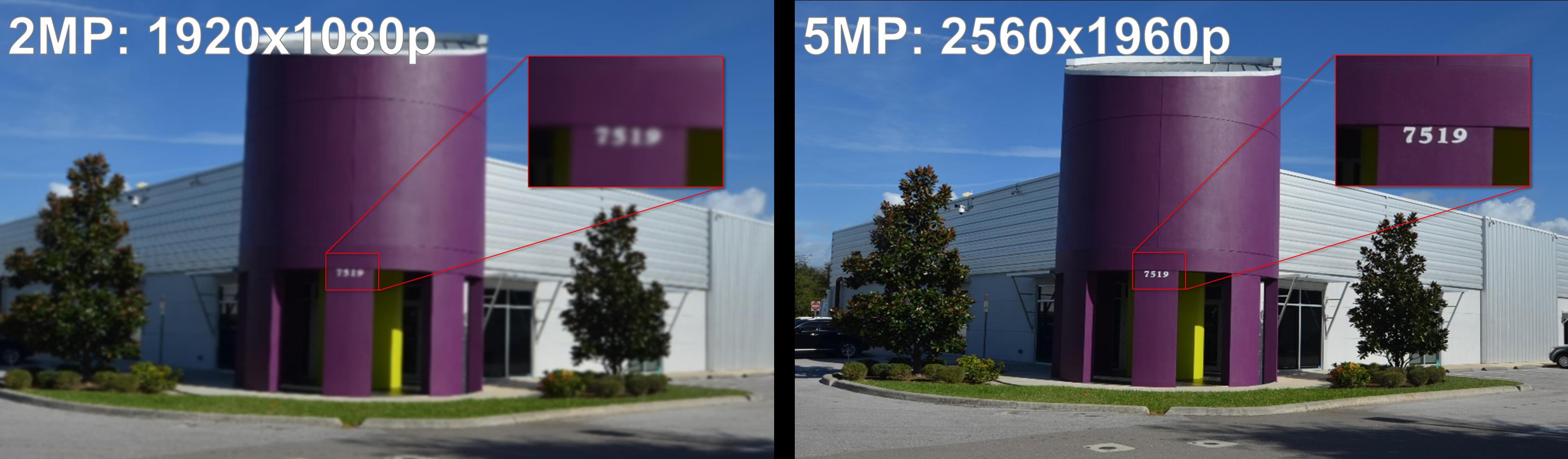 Camera Resolution Comparison (Clare Office)