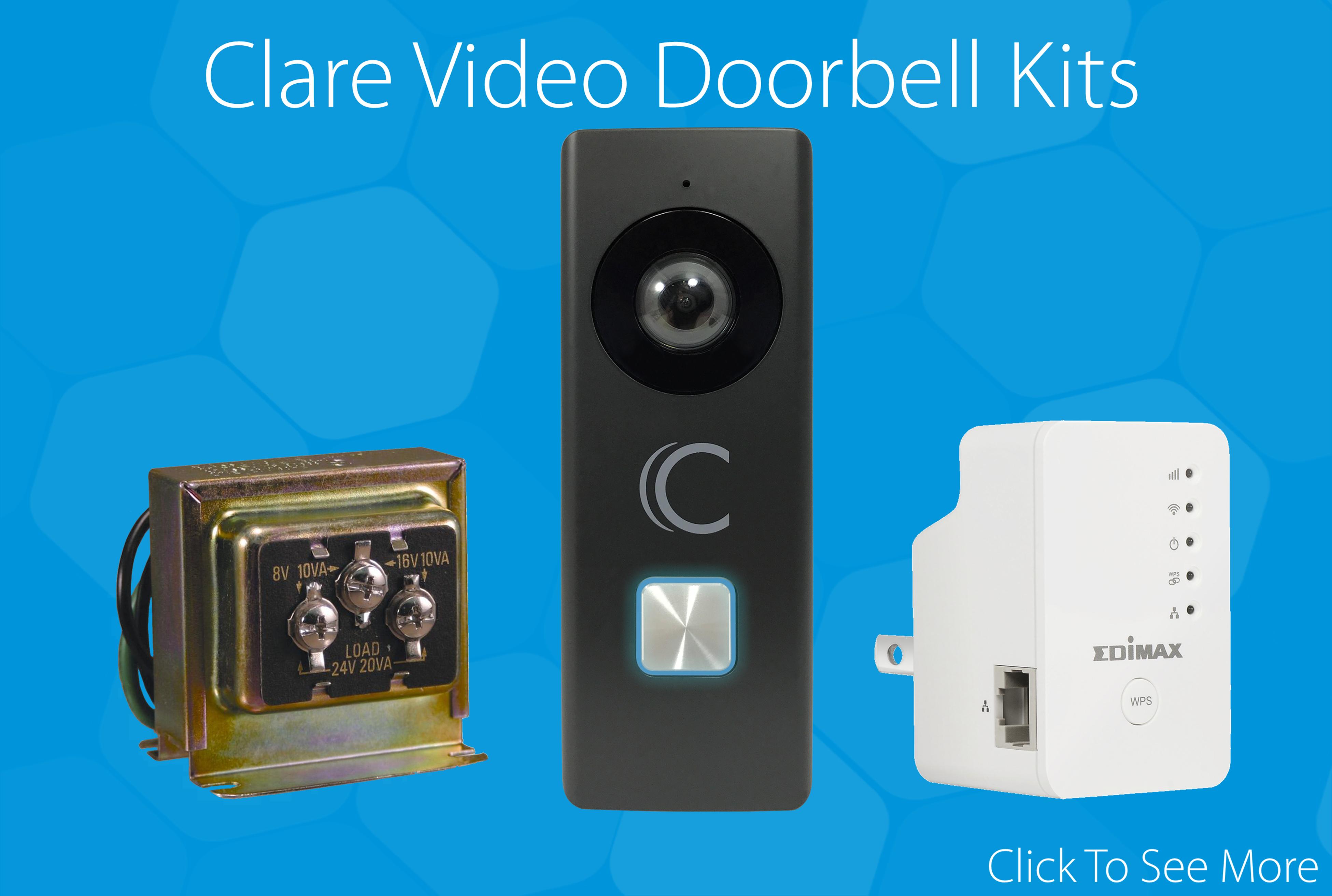 Clare Video Doorbell Kit Announcement