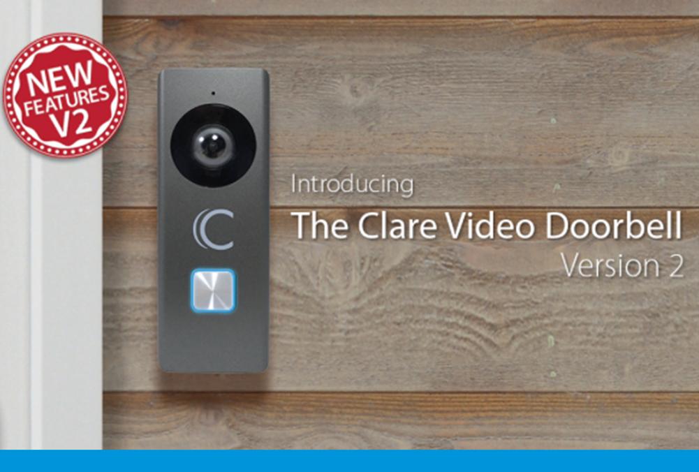 Clare Video Doorbell Version 2