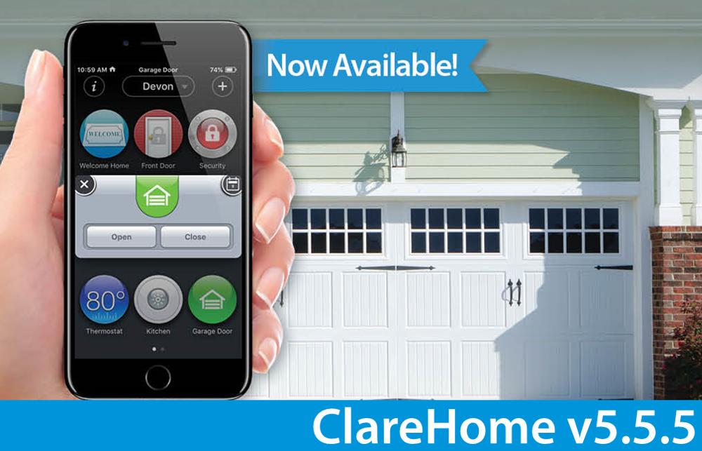 ClareHome v5.5.5 Update