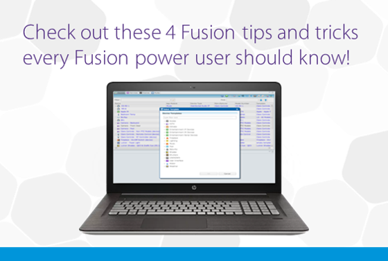 Fusion Tips & Tricks