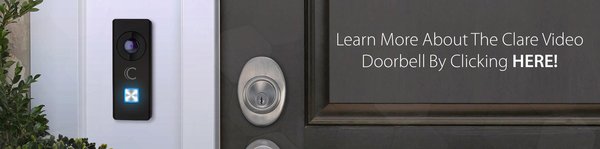 Clare Video Doorbell Image