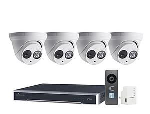 Clare Dealer Smart Home Video Monitoring Cameras and 8-Channel NVR Kit