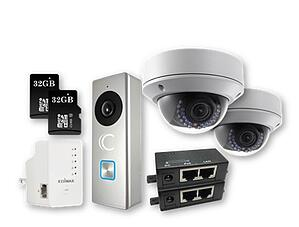 Clare Dealer Smart Home Video Monitoring Cameras and SD Cards Kit
