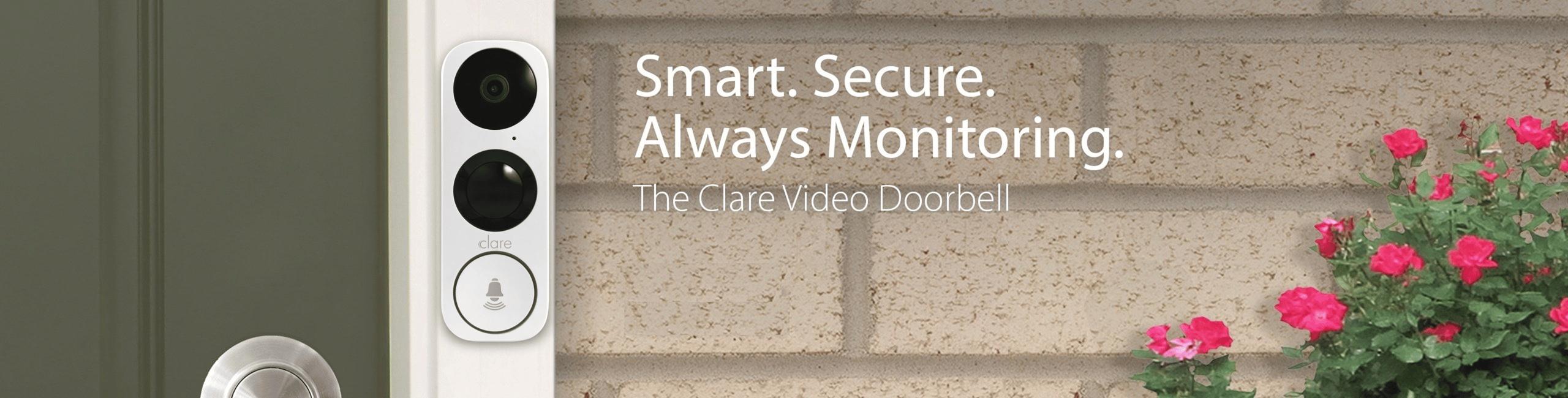 Clare_Video_Doorbell_Banner