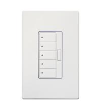 5-Scene-Keypad White