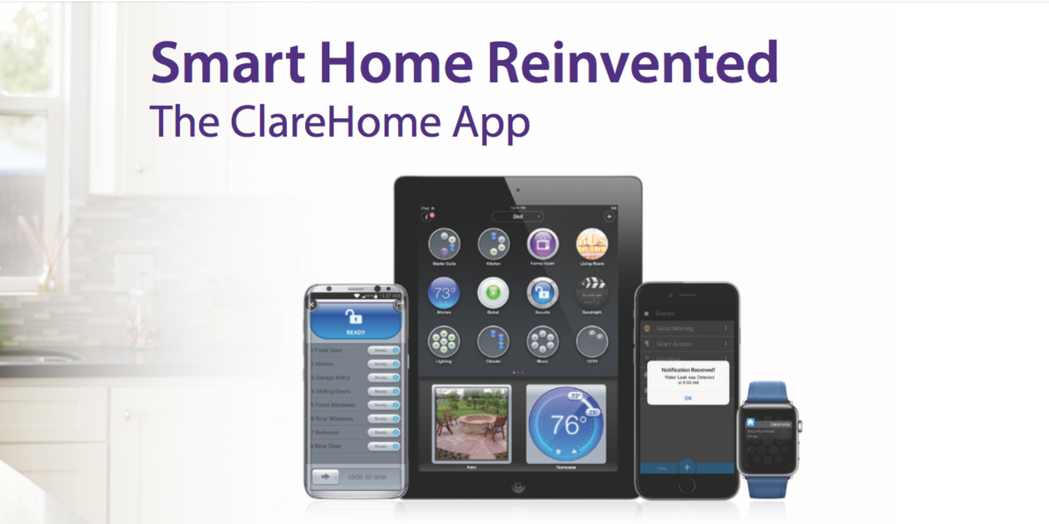 ClareHome App | Control Your Smart Home Automation
