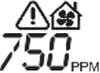 750 ppm -1