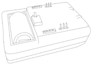 MS - side view of pins