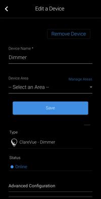 Dimmer Details