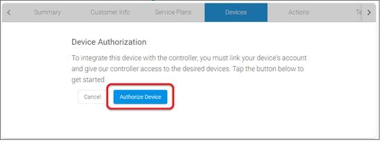 authorize - web