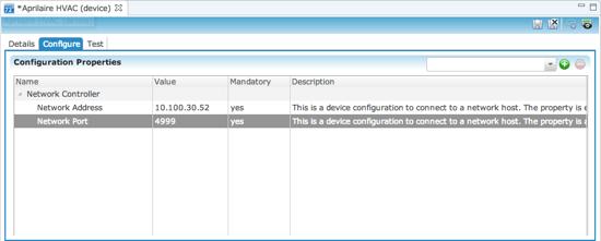 Configuration tab (parent)