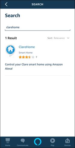 ClareHome skill 1