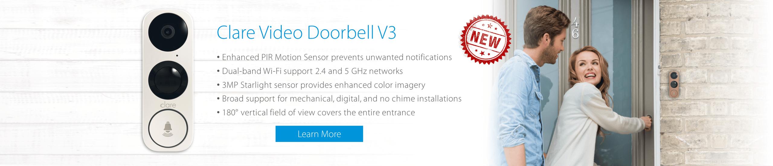 Clare Video Doorbell V3