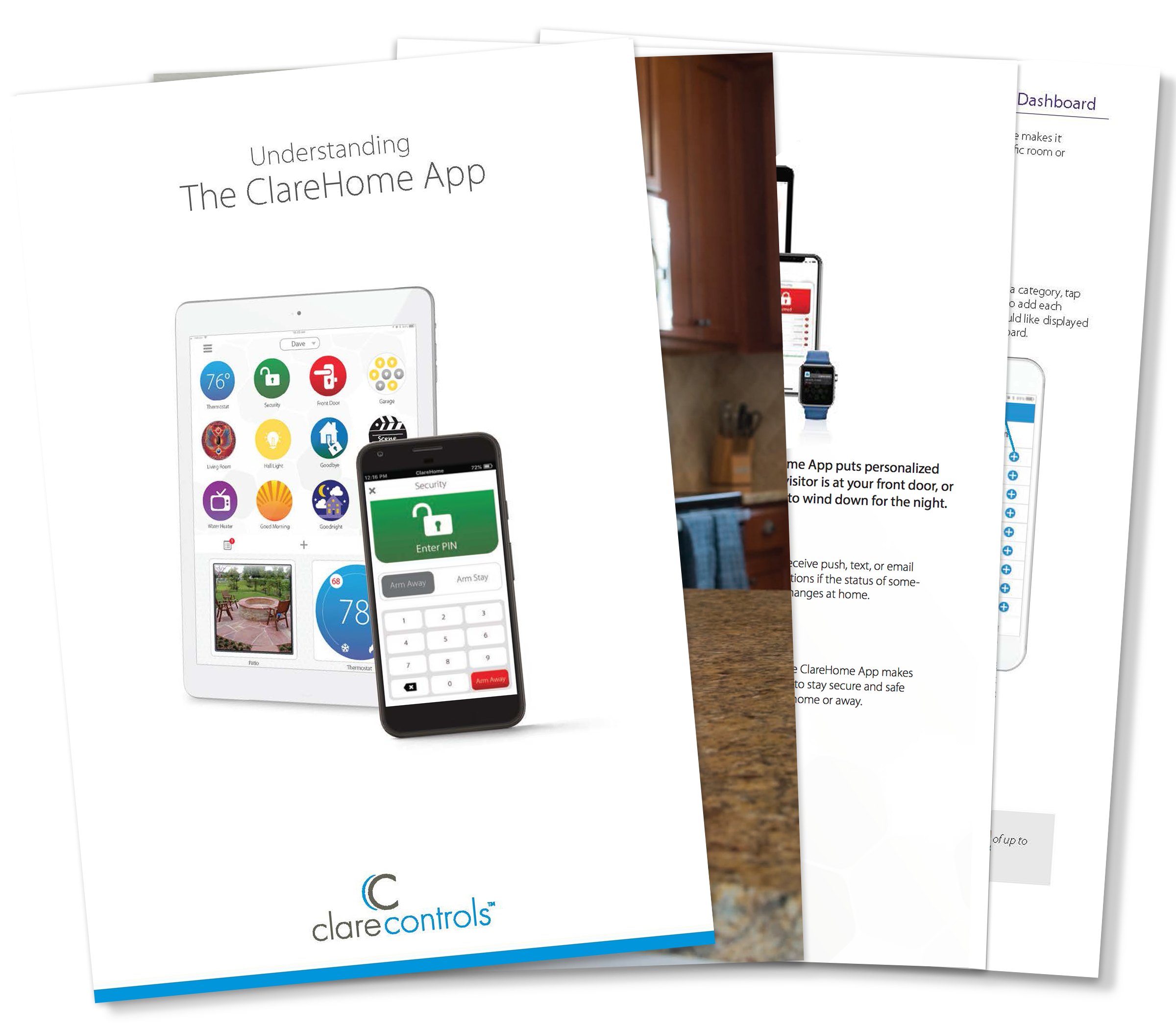 Download our ClareHome App Guide
