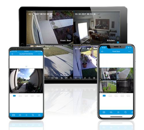 ClareVision Plus App User Interface