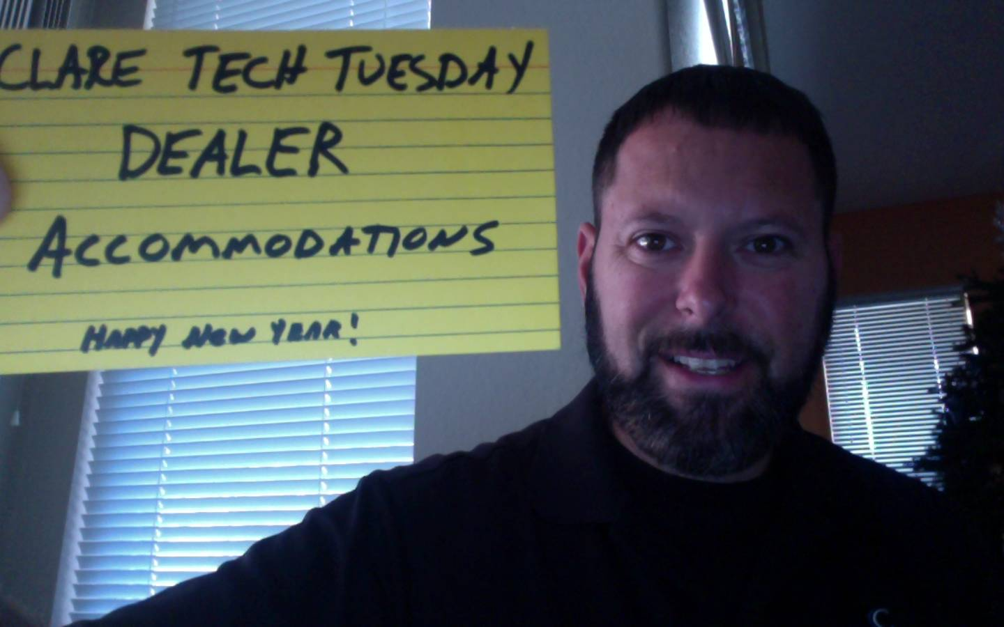 Clare Tech Tuesday: Dealer Accommodations