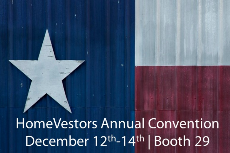 Come See Us At The HomeVestors Annual Convention