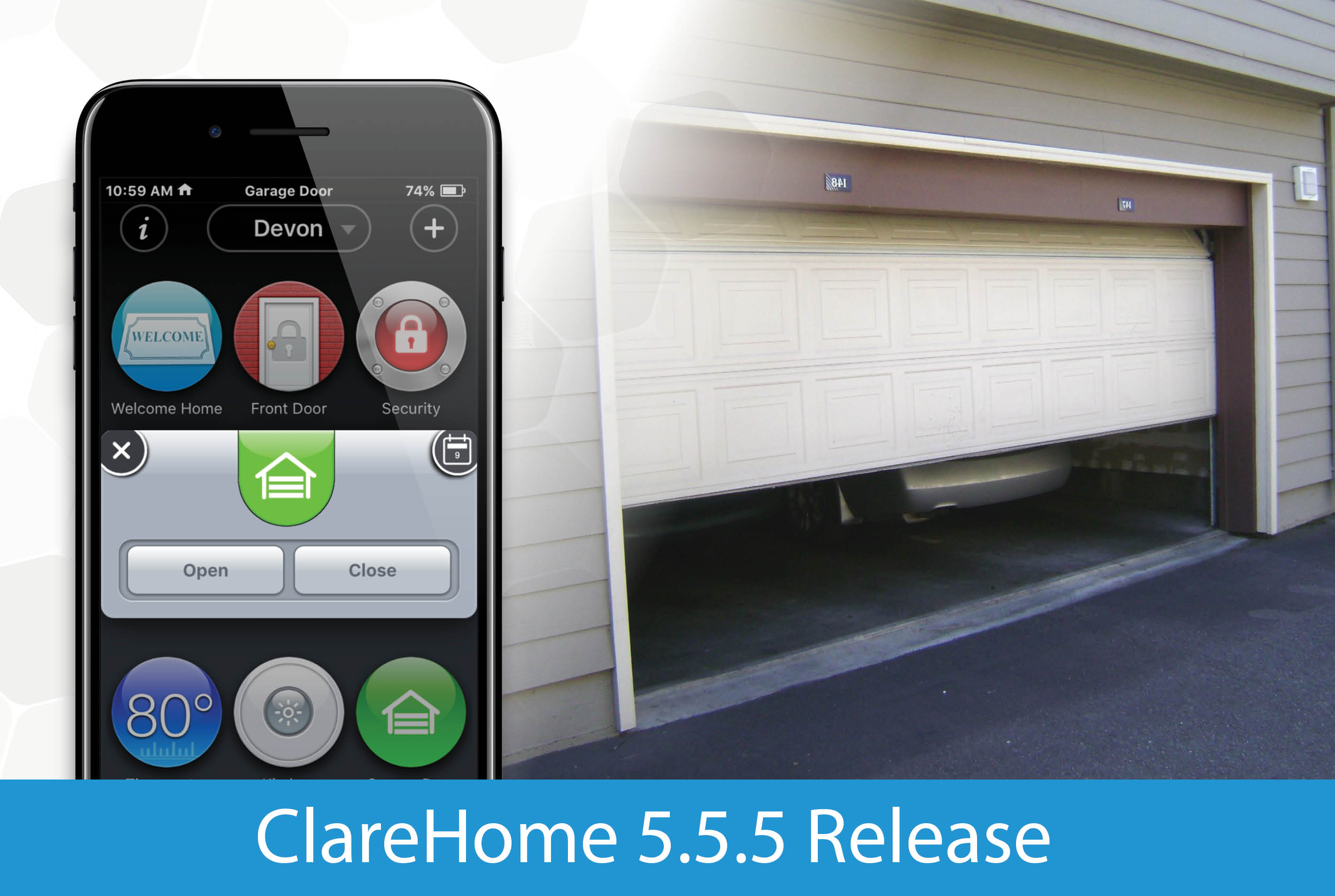 ClareHome v5.5.5 Release