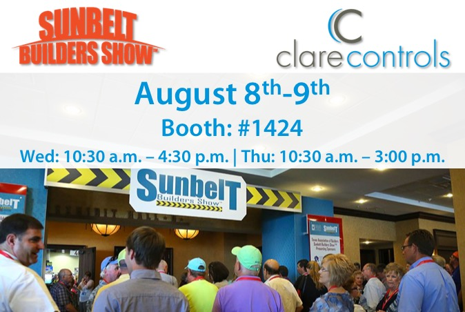 We'll Be Attending The Sunbelt Builders Show!