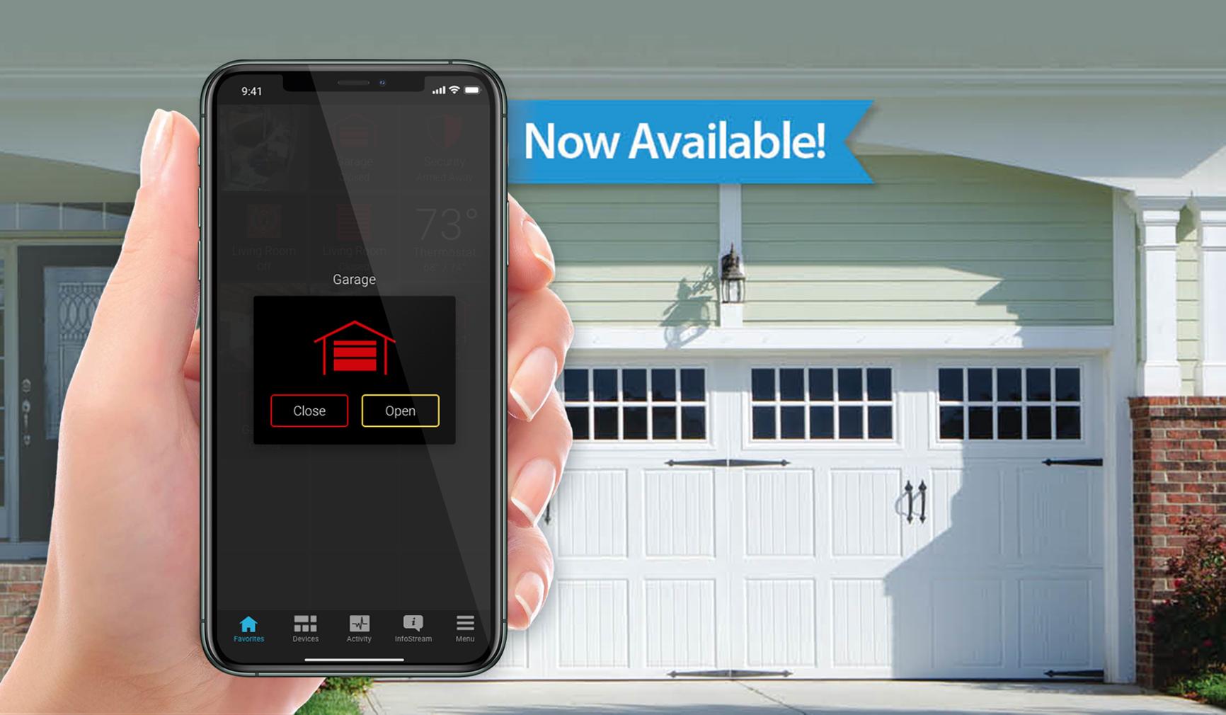 MyQ Garage Door Control Setup