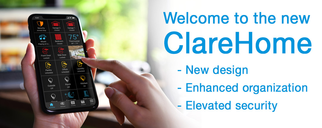 Meet the new ClareHome app