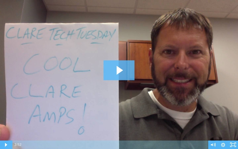 Clare Tech Tuesday: Clare Amplifiers