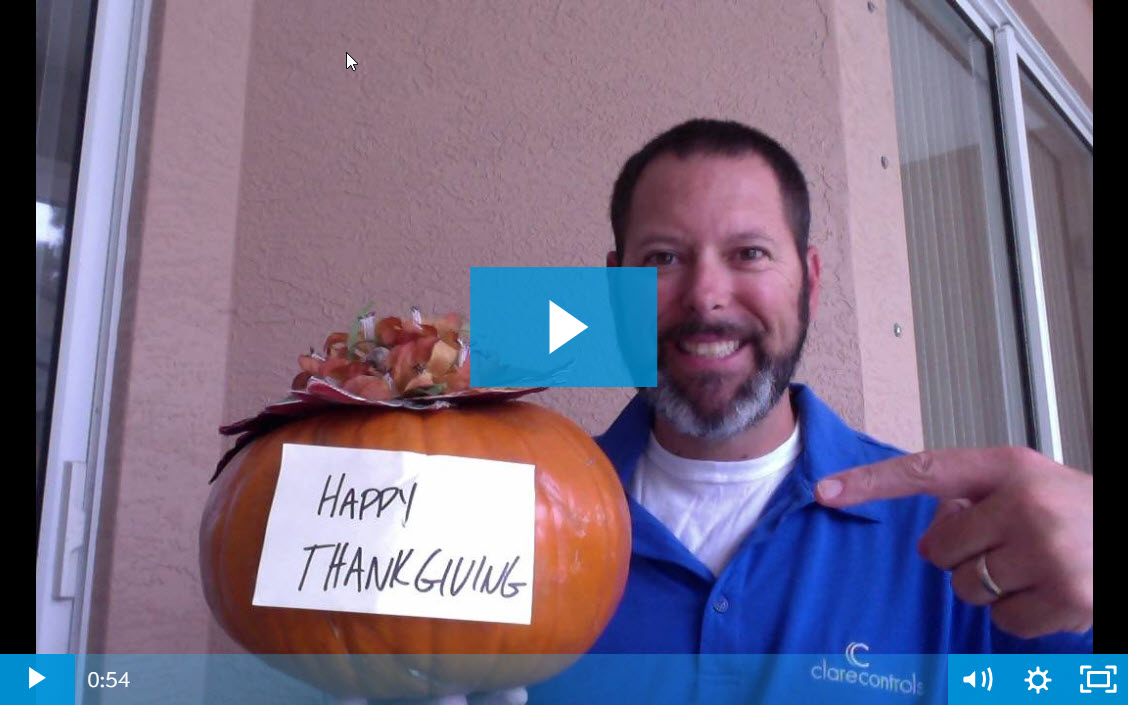 Clare Tech Tuesday: Happy Thanksgiving from Clare!