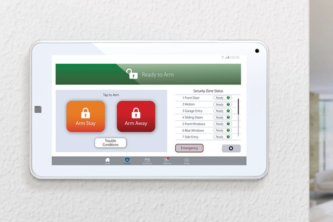 ClareHome Security Touchpanel