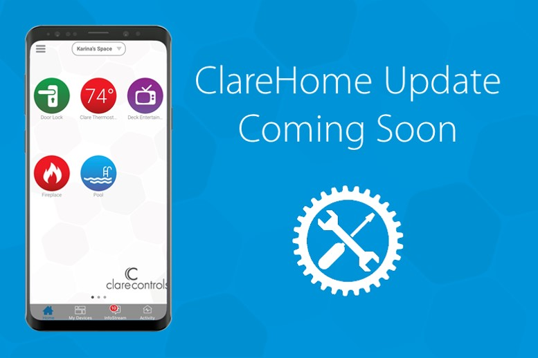 Announcement: New ClareHome App Features Releasing In The Next Week
