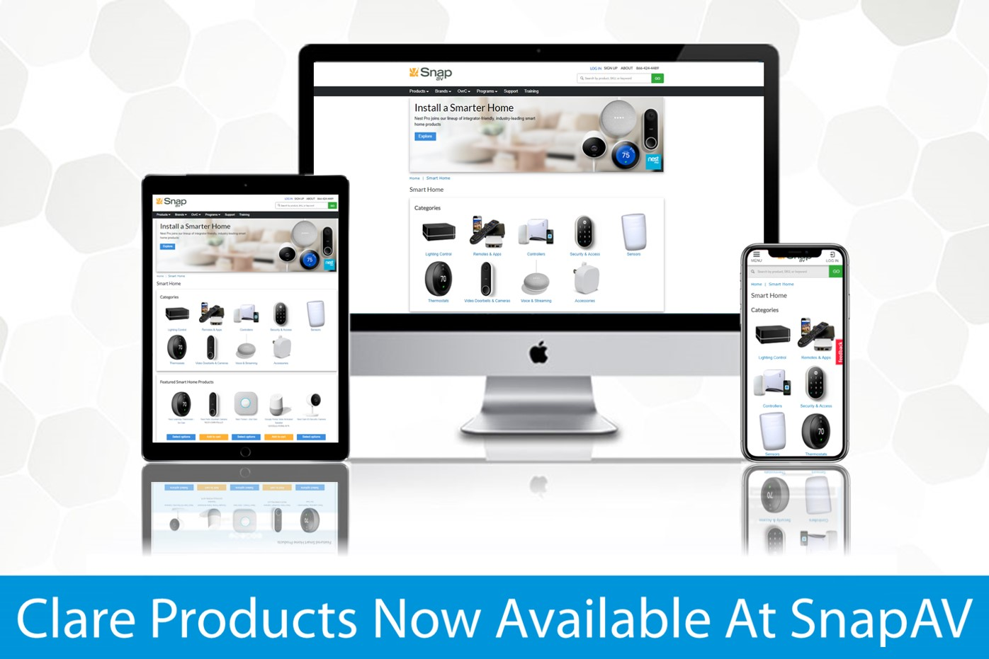 Clare Products Available to Purchase Through SnapAV