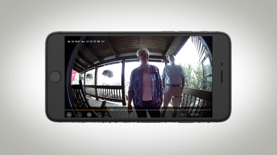 Learn About the Clare Controls Video Doorbell