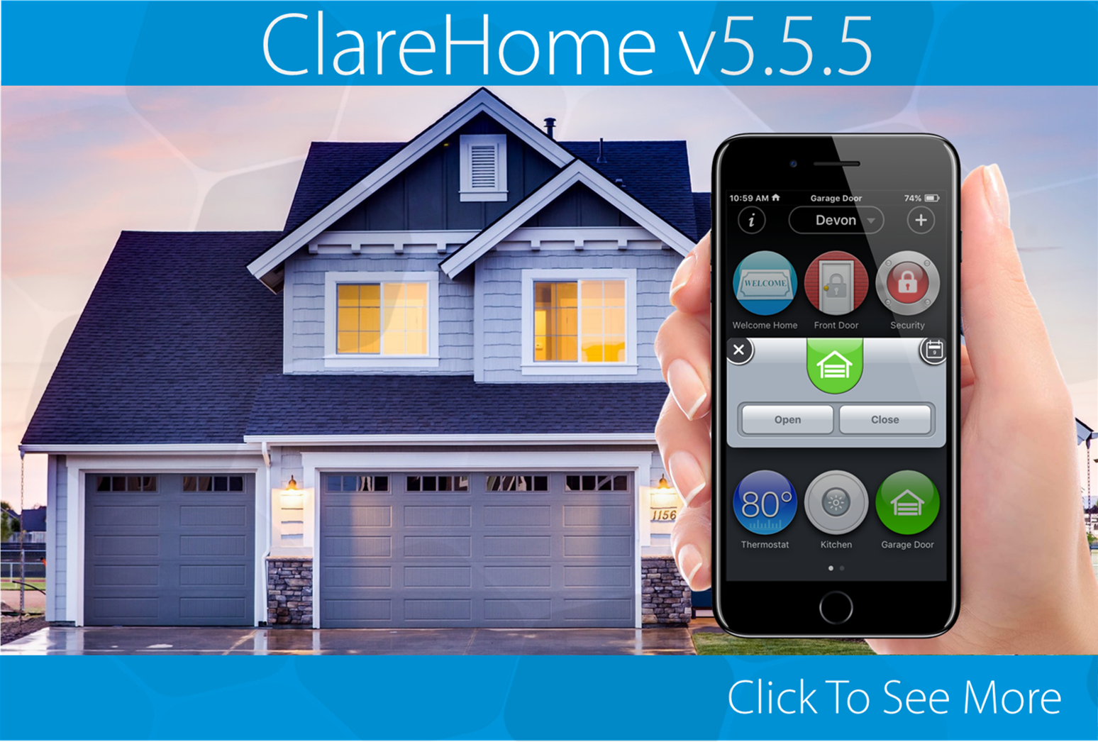 Announcing ClareHome v5.5.5