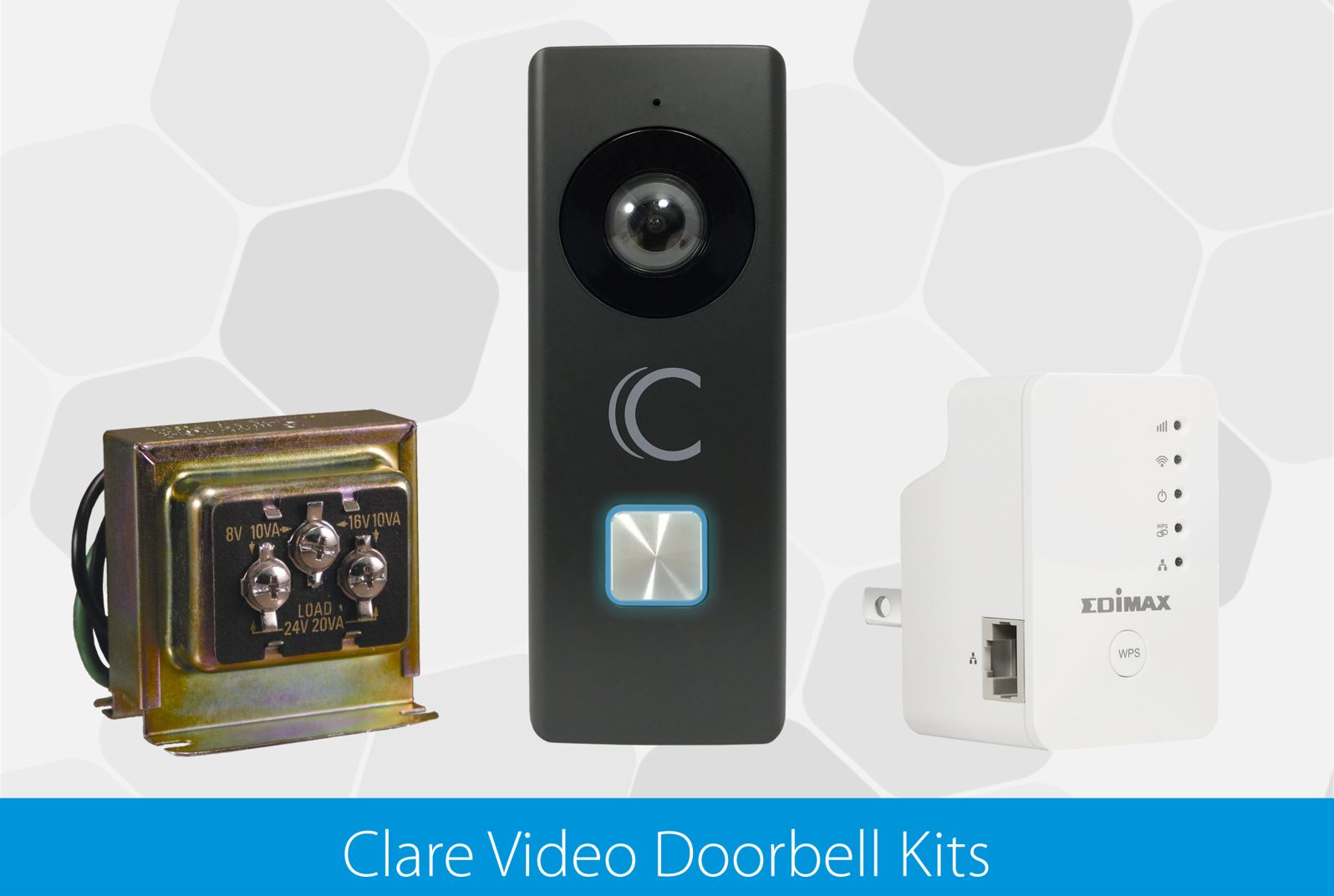Announcing the Clare Video Doorbell Kits