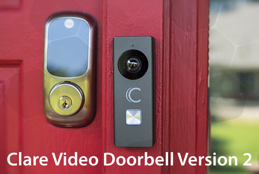 Clare Video Doorbell Version 2