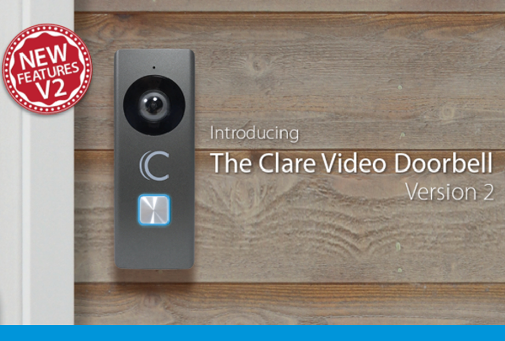 Announcing the Clare Video Doorbell - Version 2