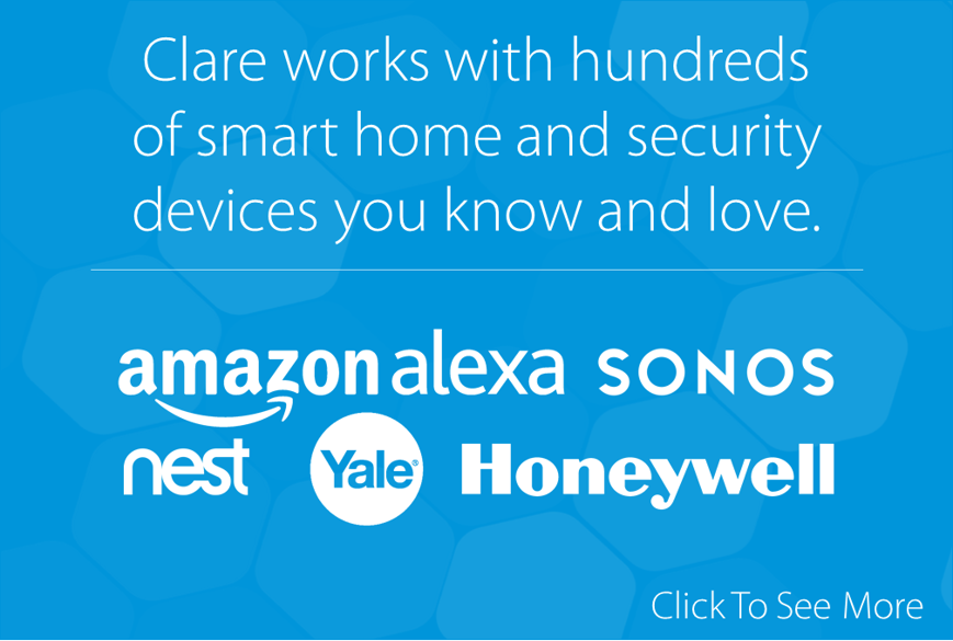 Clare Controls Is Compatible With Over 1,800 Devices!
