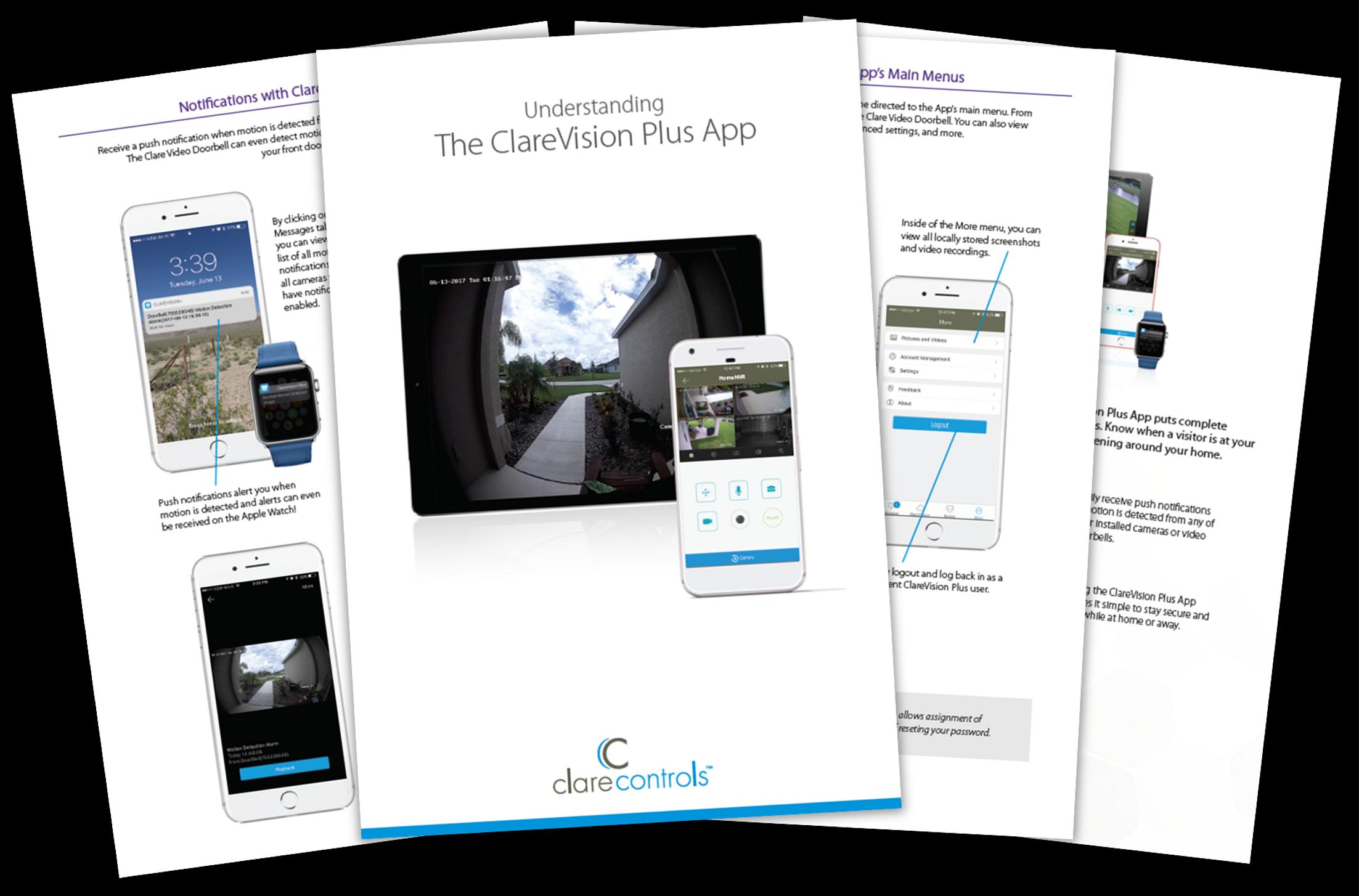 ClareVision Plus App & App Guide