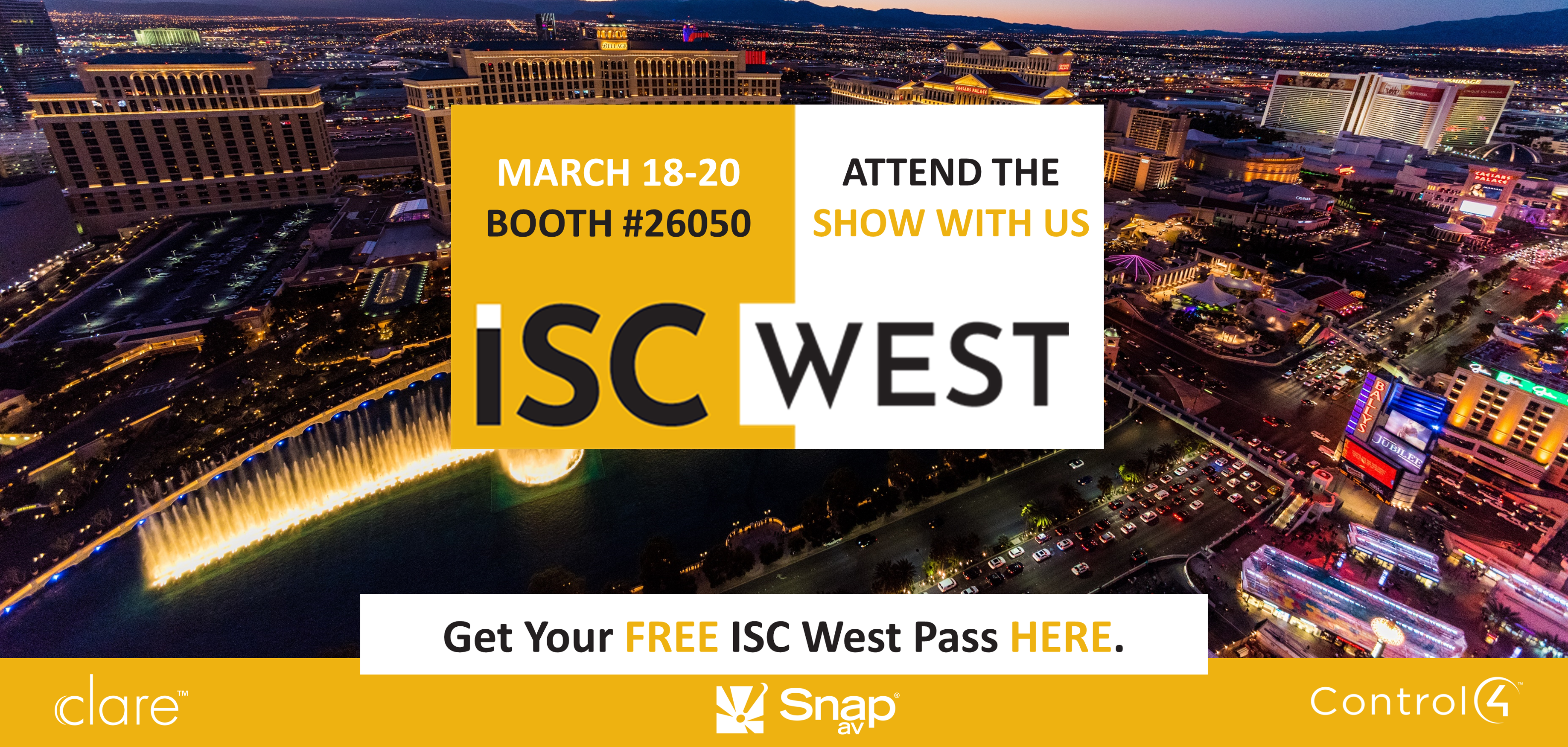 We're heading to ISC West and You're Invited!