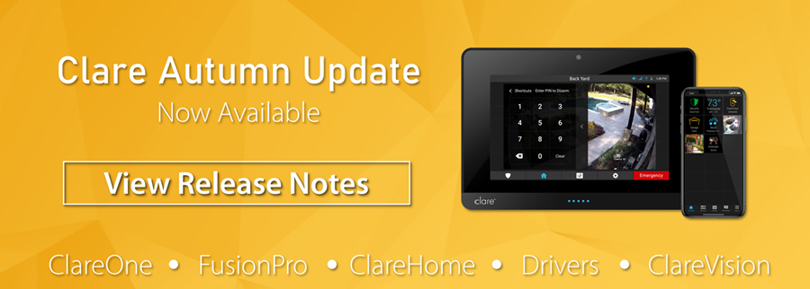 10/07/2021: Clare Autumn Update: Now Available!