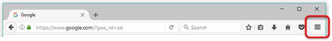 web browser toolbar
